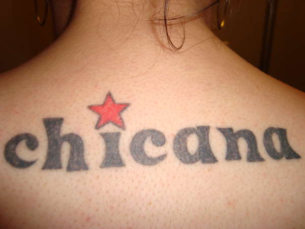 Chicana tattoo