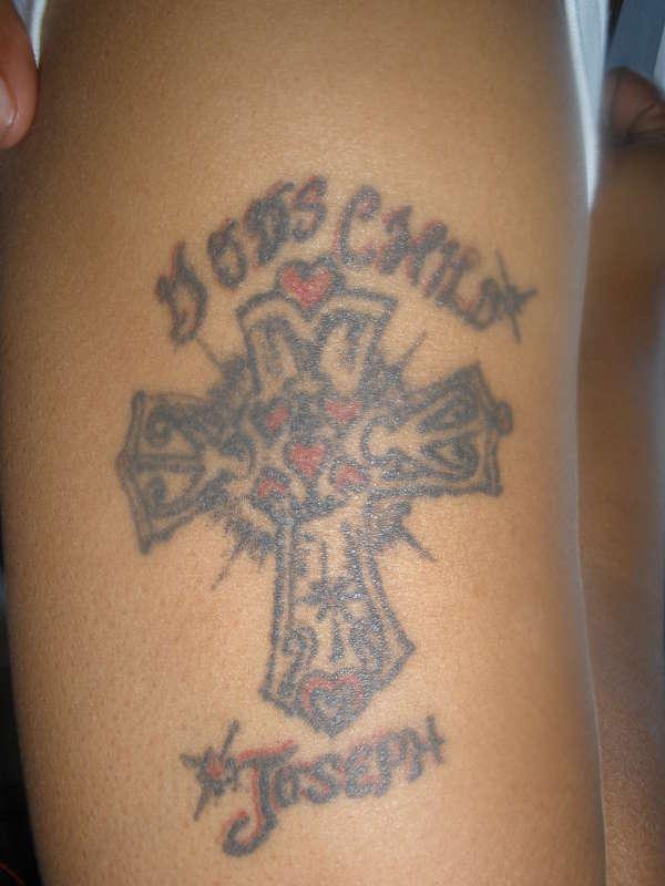 GOD'S CHILD tattoo