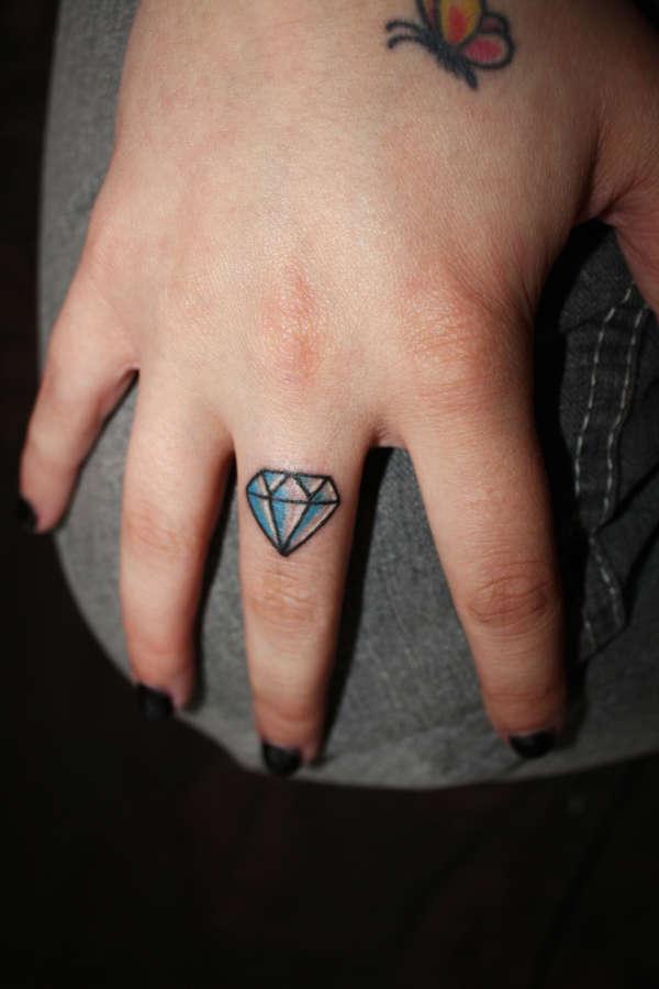my diamond tattoo