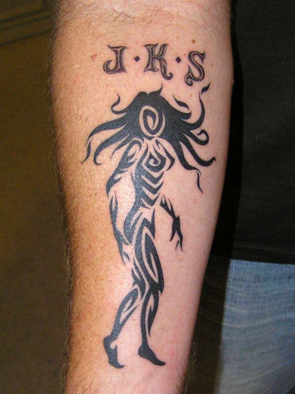 Tribal Lady Tattoo: Tribal Lady Tattoo