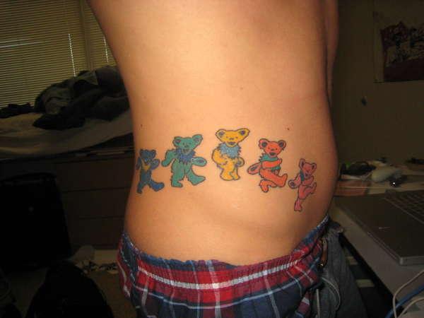 Dancing Bears tattoo