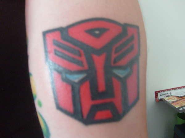 Autobot Logo tattoo