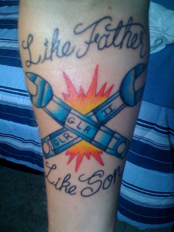 Like Father Like Son Tattoo - Tattoo Collections