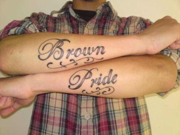 Brown Pride Tattoo tattoo