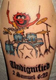 Animal (Muppet) tattoo
