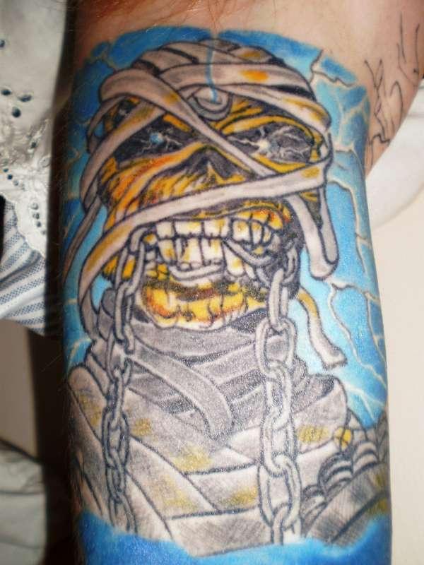 ED Force 1 tattoo