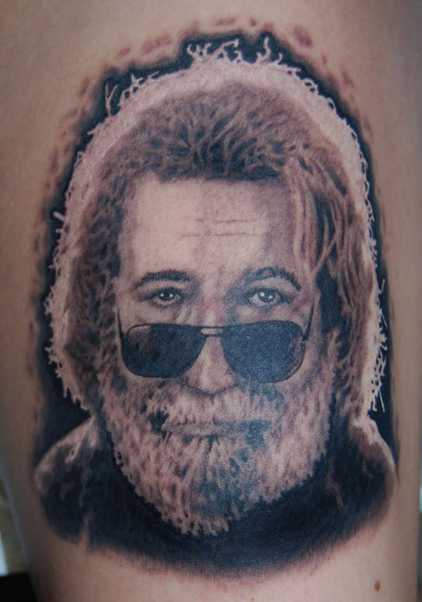 Jerry Garcia tattoo