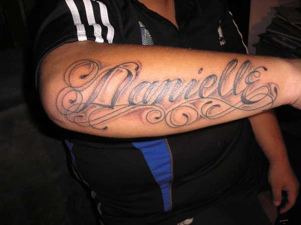danielle tattoo
