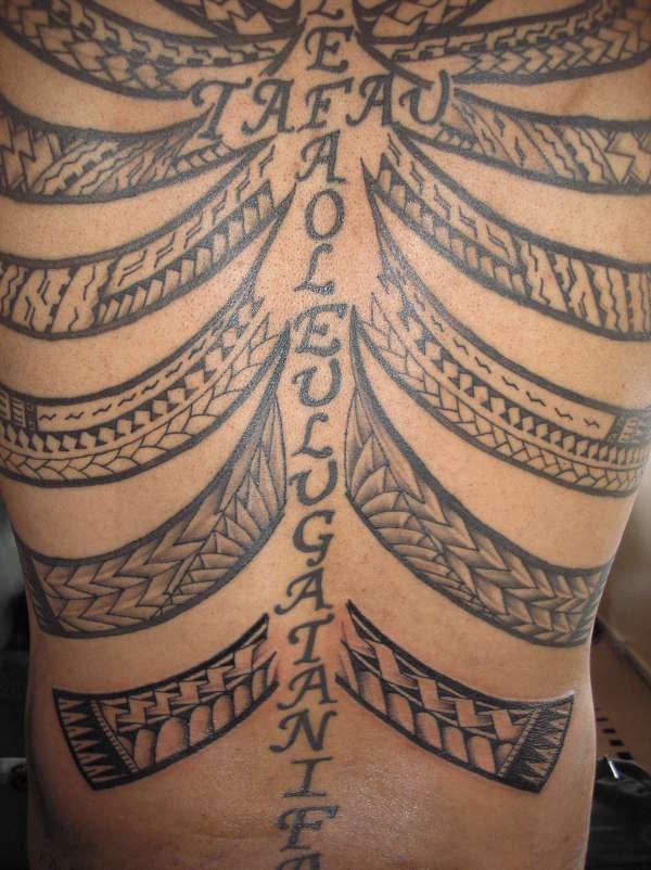 samoan wings tattoo