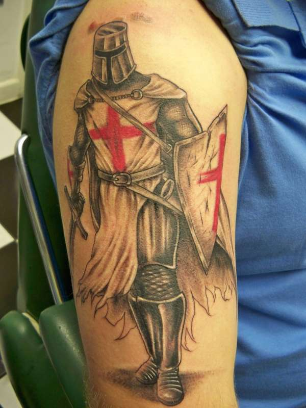 templar_knight tattoo