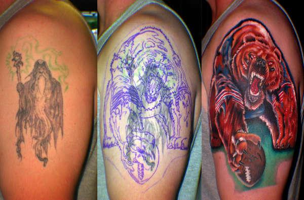 da bears tattoo