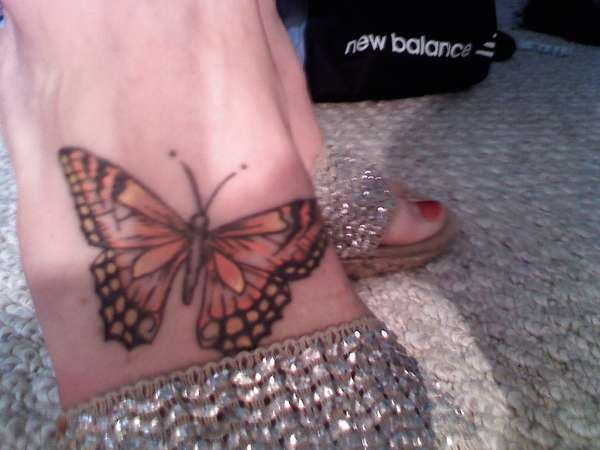 put your best foot forward tattoo
