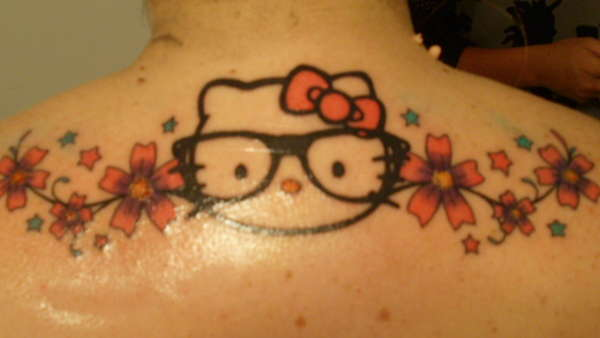 bd23f9896 Hello Kitty tattoo