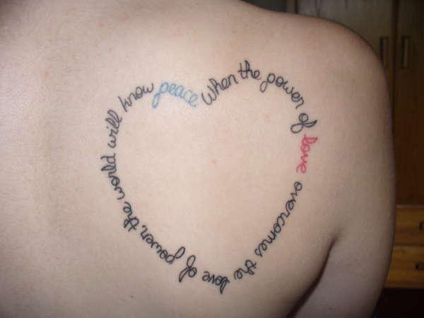 Hendrix quote tattoo