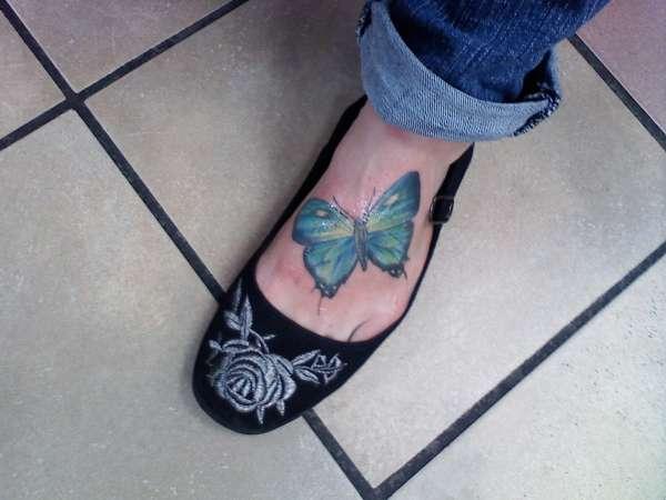 Brand new butterfly tattoo