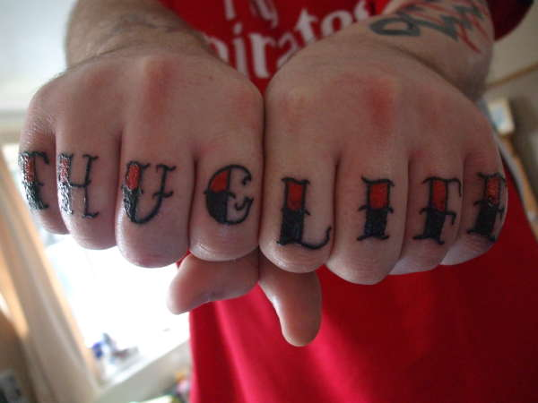 Thug Life Bitch! tattoo