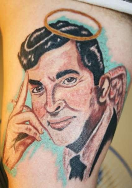 Dean Martin Angel tattoo