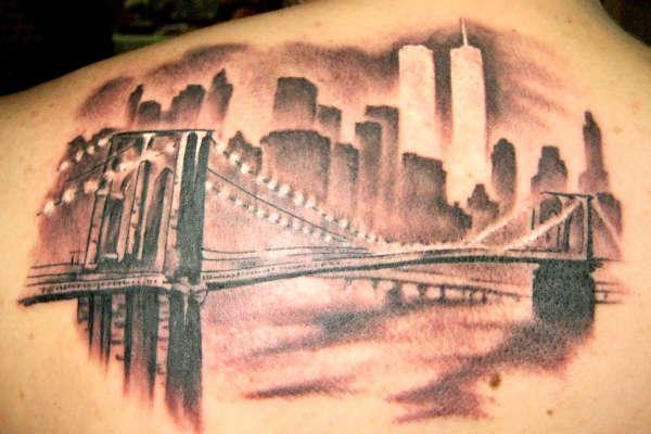 brooklyn bridge tattoo
