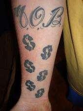 M.O.B. tattoo