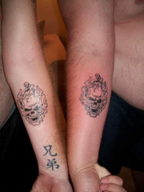 Matching Tattoos tattoo