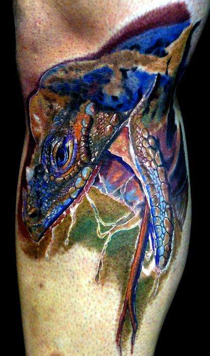 komodo dragon tattoo