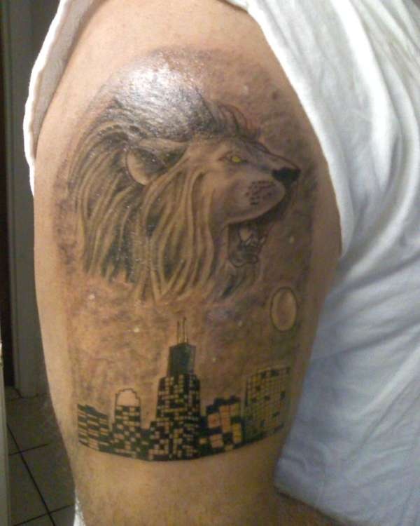 af749df8f0fef King Of The Concrete Jungle tattoo