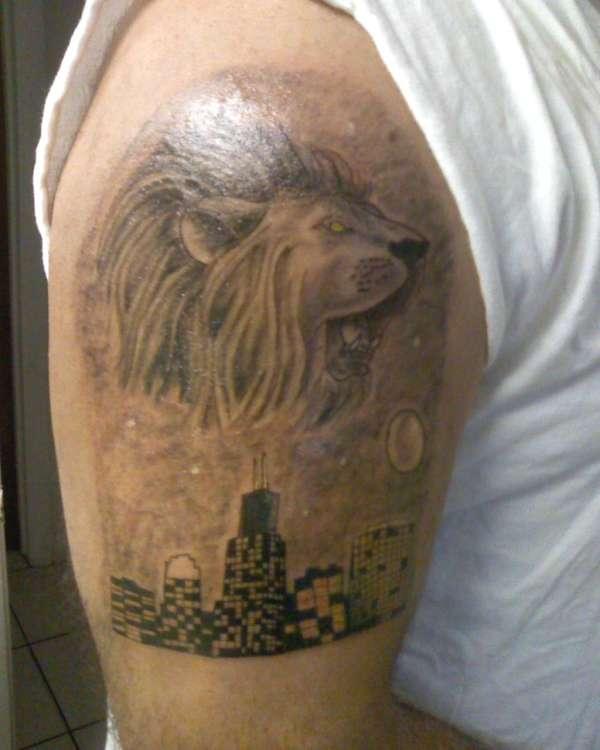 king of the concrete jungle tattoo