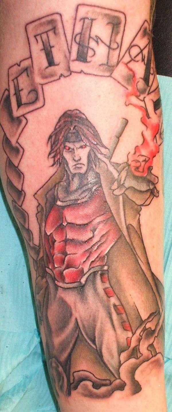 Gambit tatoo tattoo