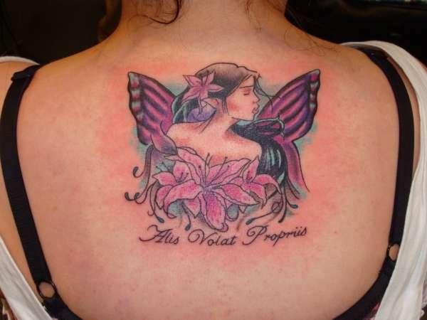 fairy by brad george tattoo