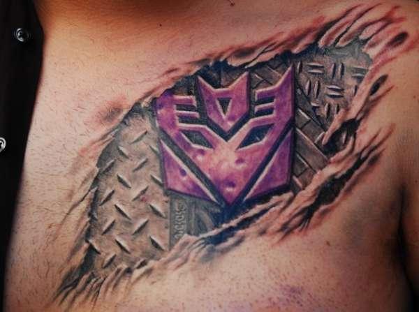 My underskin tattoo for Under the skin tattoo