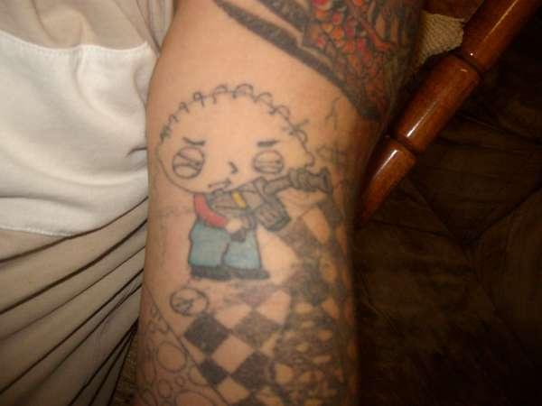 stewie tattoo