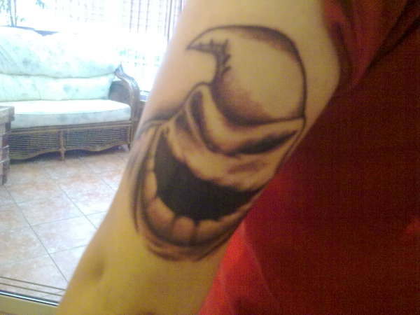 Oogie Boogie Man tattoo