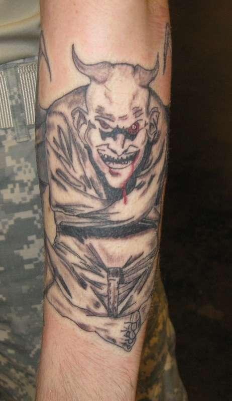 Straight Jacket Tattoo vcSD22