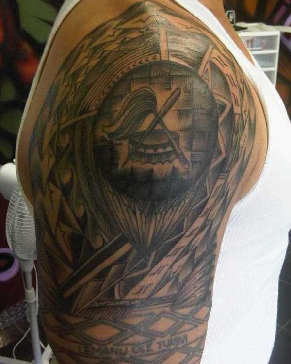 Right Shoulder tattoo