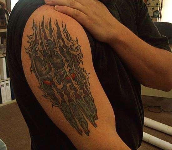 Evil Ink tattoo