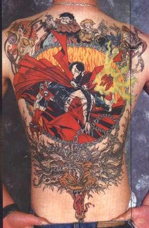 Spawn tattoo