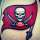 NFL Tampa Bay Buccaneers New Flag Tat tattoo