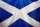 Scotland Flag (Saltire) View 2 tattoo