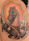 Chess by Thors10 tattoo
