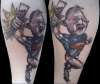 Sloth from The Goonies tattoo