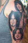 Motley Crue tattoo