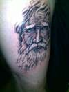 wizard tattoo