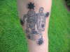 southern cross/kokoda diggers tattoo