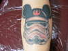 mickey mouse spacetrooper? i think... it's been a while tattoo