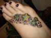 stars on my foot tattoo
