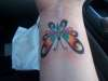 My Butterfly Wrist Tatt tattoo