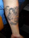 Angel Devil Tat tattoo