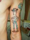 woody from toy story tattoo