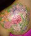 Femenine Flowers tattoo