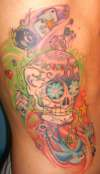 Mexican Candy Side tattoo